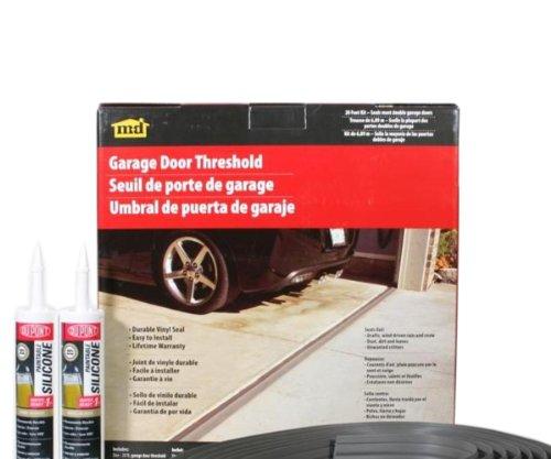 M-D Building Products 50101 20-Feet Double Door Garage Door Threshold Kit (Garage Door Insulation Kit 20 compare prices)