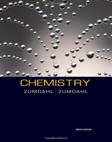 Chemistry Student Solutions Guide for Zumdahl & Zumdahl