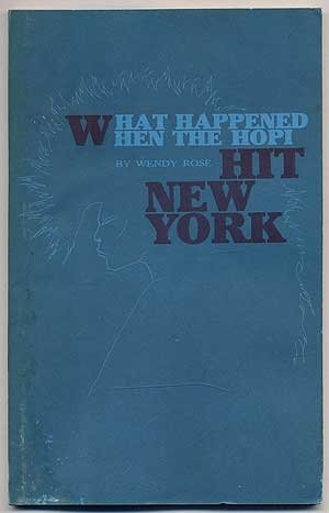 Image for What Happened When the Hopi Hit New York (Contact II Chapbook)
