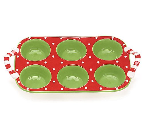 Festive Holiday Muffin/Cupcake Pan Great Bakeware For Christmas Parties