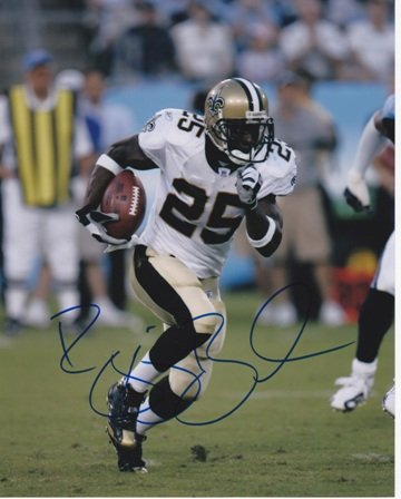 Reggie Bush Autographed / Hand Signed New Orleans Saints 8x10 Photo - Super Bowl XLIV Champion at Amazon.com