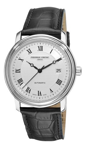 Frederique Constant Men's FC-303MC4P6 Classics Automatic Black Roman Numerals Silver Dial Watch