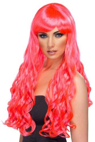 Smiffy's Desire Wig, Fuchsia, One Size