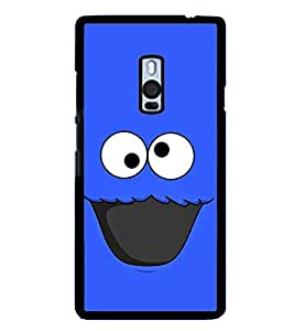 Funny Cartoon 2D Hard Polycarbonate Designer Back Case Cover for OnePlus 2 :: OnePlus Two :: One +2