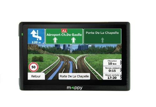 Navigation GPS MAPPY ITI E411 NOIR EUROPE 14 PAYS