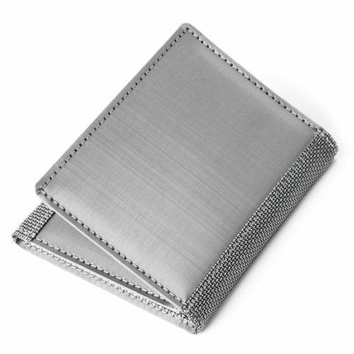 Stewart/Stand Rfid Blocking Tri-Fold (Id) - Silver