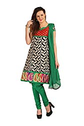 Parchayee Women's Multicolor Printed Cotton Dress Material