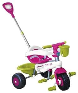 Smart Trike Lollipop 123-3500 Tricycle 3-in-1 Green / Pink / White