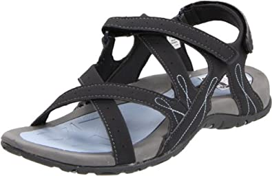 Hi-Tec Women's Waimea Falls Backstrap Sandal,Blue Moon/Grey/Light Blue,5 M US
