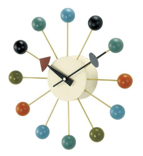 壁掛け時計 ジョージ・ネルソン ボールクロック マルチ 42110073