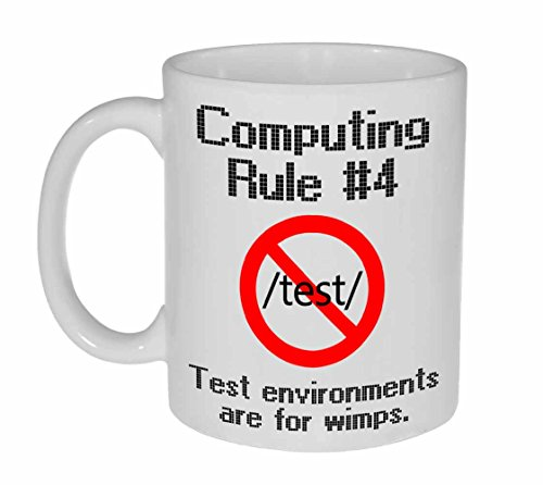 Computing Rule #4 Funny Coffee or Tea Mug