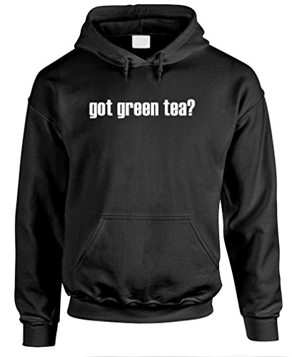 Got Green Tea? - Mens Pullover Hoodie, M, Black