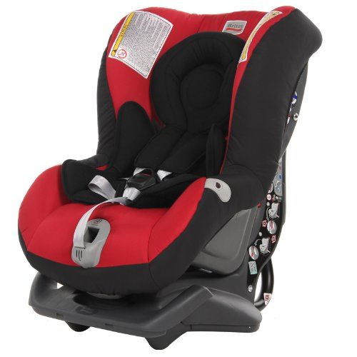 Britax First Class Plus Rearward Forward Facing Group 0+ 1 Car Seat (Chili Pepper)