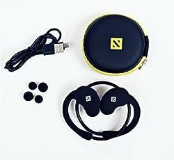 FIRETALK G 2 WIRELESS AUDIO GEAR Wireless bluetooth Headphones (DEEP BLACK, In the Ear)