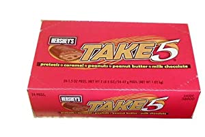 Hershey's Take 5 Standard Bar 24 x 1.5OZ