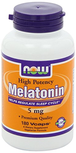 NOW Foods Melatonin 5mg, 360 Vcaps