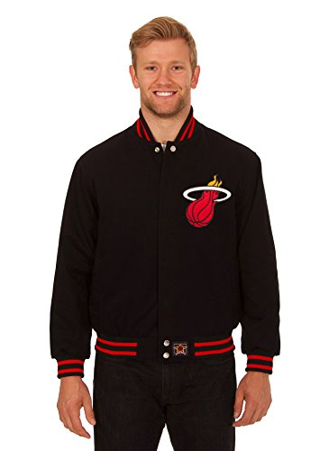 Miami heat leather jacket