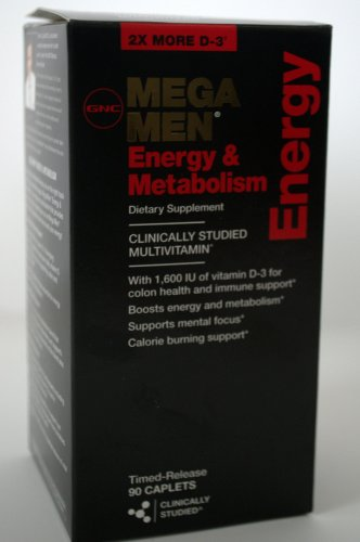 gnc-mega-men-energy-metabolism-90-caplets-multivitamin-pack-of-2-total-180-caplets