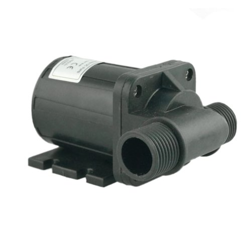 Zksj Dc 24V 1.1A 26.4W Brushless Magnetic Drive Centrifugal Submersible Oil Water Pump 1080L/H 4.5M/14.6Ft Dc40C-2445