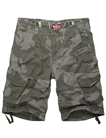 Match Men's Thin Fabric Cargo Shorts(S3596M - Gray max,US29 (Label Size M/30))