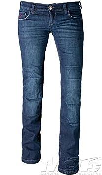 Mottowear jean pour femme kira x sAS- tech (avec un protège) taille 34 (uS 12)
