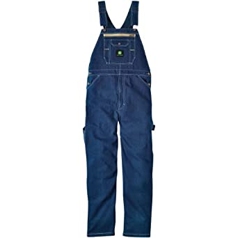 MENS WASHED DENIM BIB
