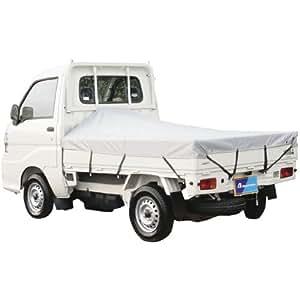 BONFORM ( ボンフォーム ) 便利用品 軽トラック用 防水荷台シート シルバー 6650-01SI