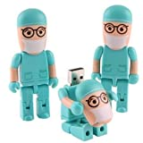 4-64GB beautiful doctor nurses Model USB 2.0 Memory Flash Stick Pen Drive 32GB