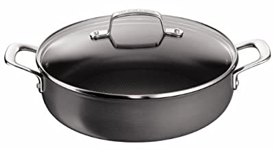 Jamie Oliver by Tefal - Hard Anodised 30cm Pot Roast Pan with lid