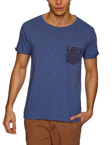 Farah Vintage The Billy Men's T-Shirt Washed Indigo Large