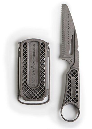 Victory Knives XTB Sailor's Blade, Titanium Rope Knife with Titanium Sheath