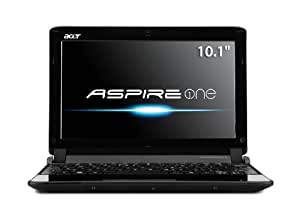 Acer AO532h-2964 10.1-Inch Matrix Silver Netbook - Up to 10 Hours of Battery Life