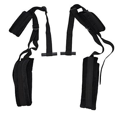 Denshine SM Sex Love Toys Couples Game Door Swing Sling Adjustable Mobile Straps