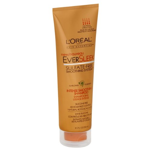L'Oreal Paris EverSleek Intense Smoothing Shampoo, 8.5-Fluid Ounce
