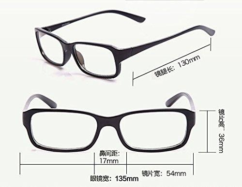 92e6b9c2714 Computer Glasses Anti Glare Anti Reflective Coating Black Frame Hardware  Adhesives