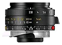 Leica 28mm f/2.8 ASPH M-Elmarit Wide Angle Manual Focus Lens for M System (11606)