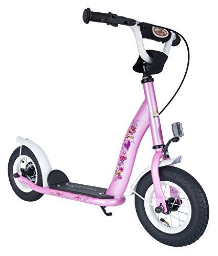 Bikestar 10 inch (25.4 cm) Kids Kick Scooter Pink Fairy Design