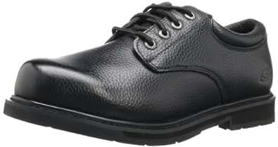 Skechers for Work Men's Exalt Work Boot,Black,7 XW US