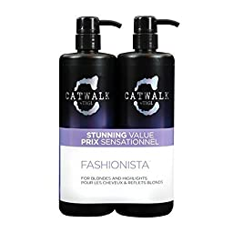 TIGI Catwalk Fashionista Violet Tween Shampoo & Conditioner Duo 2x750ml by Fashionista