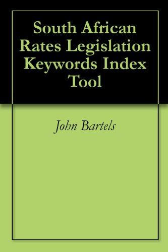 South African Rates Legislation Keywords Index Tool
