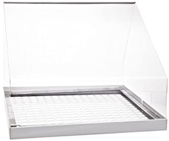 Extract-All Slotted Inlet Cover with Acrylic Hood, For Air Cleaning and Dust Collection System