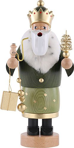 German Incense Smoker The 3 Wise Men - Balthasar - 22 cm / 8 inch - Authentic German Erzgebirge Smokers - KWO