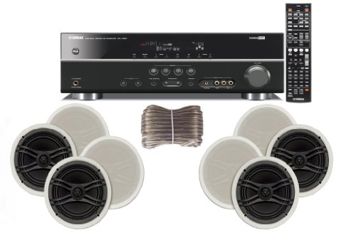 Yamaha 3D-Ready 5.1-Channel 500 Watts Digital Home Theater Audio/Video