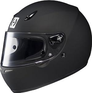 HJC Helmets 2BM10 AR-10 II Rubbertone Black Medium SA2010 Approved Auto Racing Helmet
