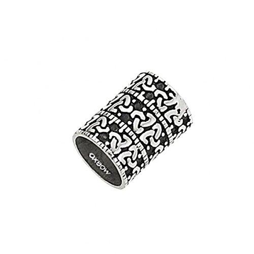 Charm Oxbow Acier pour Bracelet ou Collier - Diamètre intérieur 1 cm