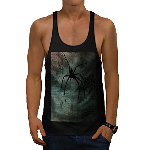 effrayant-araign-e-toile-art-punaise-homme-nouveau-noir-l-gym-reservoir-sommet-wellcoda
