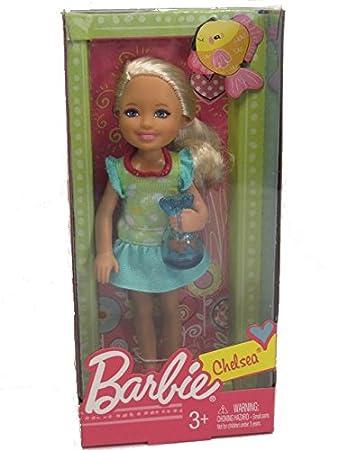 Barbie W3204 - gamme Chelsea et ses amis - Chelsea avec Goldfish Bowl