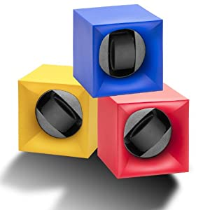 Swiss Kubik StartBox Watch Winder 6 Colours Available Perfect for the Safe