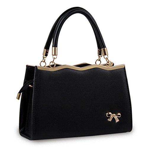 Fleeting Time Ladies Fashion Bow Shoulder Bag Messenger Handbag(C6) (Unusual License Plate Frames compare prices)