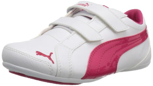 PUMA Janine Dance V Shoe (Toddler/Little Kid/Big Kid),White,10 M US Toddler